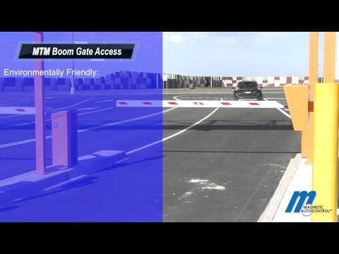MHTM Boom Gate Magnetic.Parking