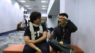 "CT ZeRo: ""Models messaged me after the Smash 4 Invite"" Interview at MLG Anaheim"
