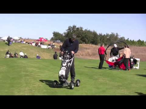 MANTYS Motorized Golf Cart for One