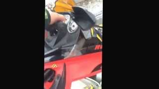 6. 2005 ski doo 500ss startup with can