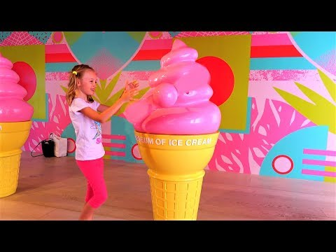 Museum Of Giant Ice Cream & Kids Play Area Video For Children