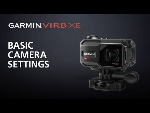 Garmin VIRB X/XE: How To Series - Changing Basic Camera Settings