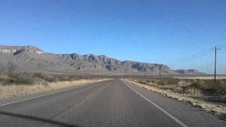 Van Horn (TX) United States  city photos : Van Horn, Texas to Guadalupe Mountains National Park