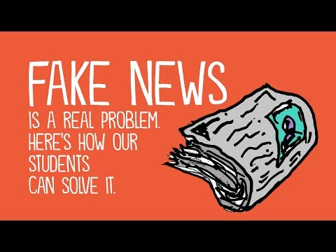 Helping Students Identify Fake News with the Five C's of Critical Consuming