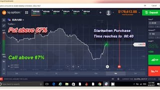 Easy & best strategy for binary option trading the win ratio is more than 85 percent.