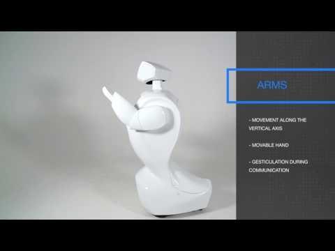 Promobot, robot social, hospitalité, promotion