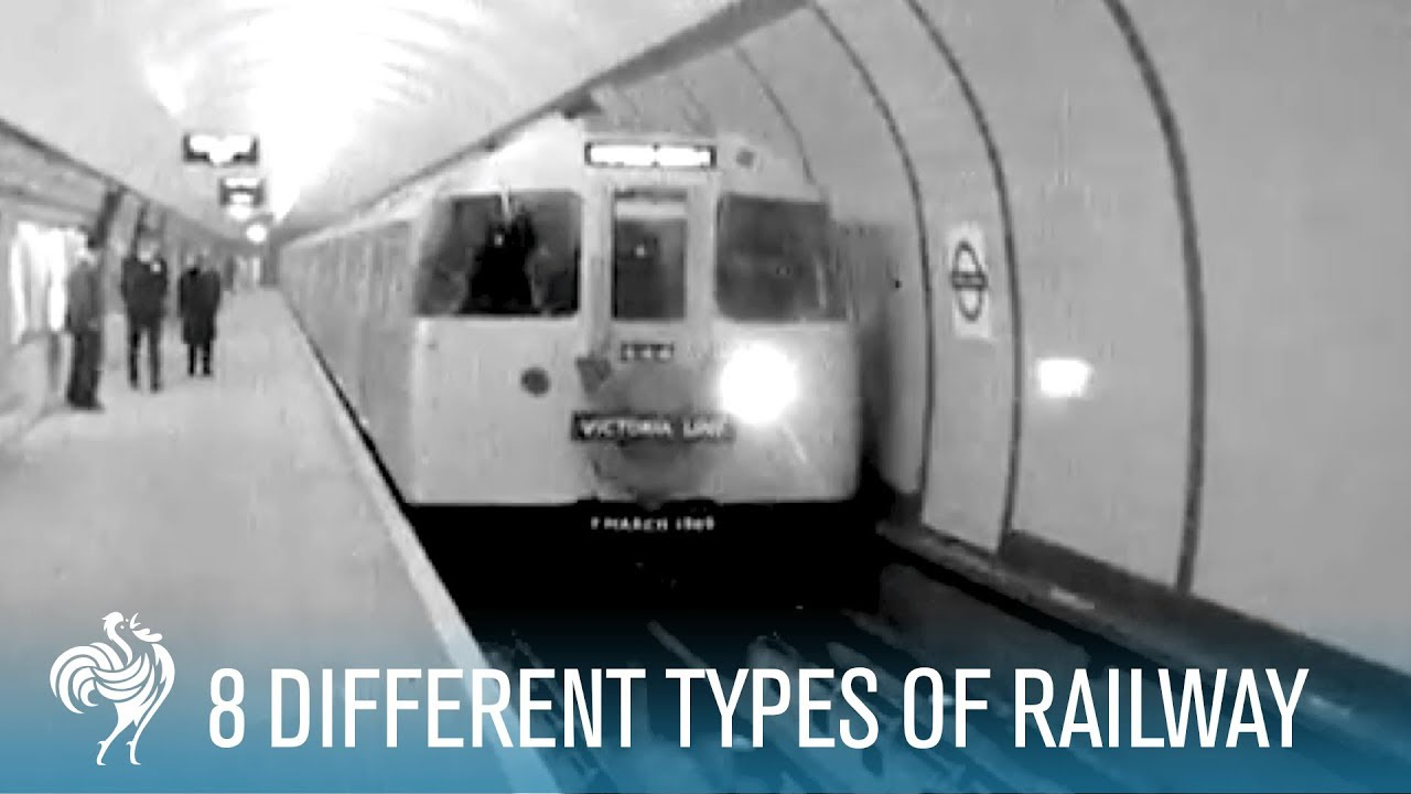 8 Different Types Of Railway | British Pathé