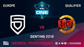 PENTA vs Ant E-Sports, ESL One Genting EU Qualifier, game 2 [Maelstorm, LighTofHeaveN]