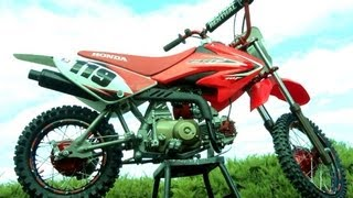 8. My Honda CRF70 Pitbike Build Transformation