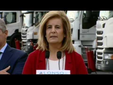 """Fátima Báñez: """"Hemos recuperado la mitad de los empleos destruidos en la crisis"""""""