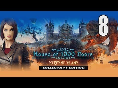 House of 1000 Doors 3: Serpent Flame CE [08] w/YourGibs - BEAUTIFUL MOSAIC HAS FIBULA LAUREL WREATH