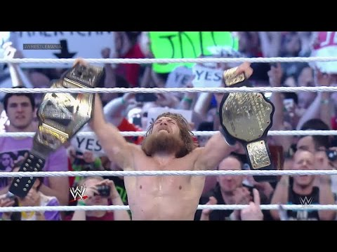 Video Daniel Bryan wins the WWE World Heavyweight Championship: WrestleMania 30 download in MP3, 3GP, MP4, WEBM, AVI, FLV January 2017