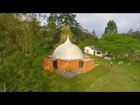 Imagens de reflexão - Imagens Aéreas do Parque de Estudo e Reflexão Caucaia