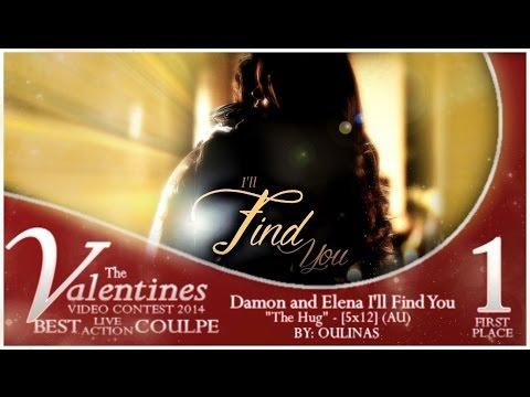 "Damon and Elena ღ I'll Find You ღ - ""The Hug"" - [5x12] (AU)-ish ;)"