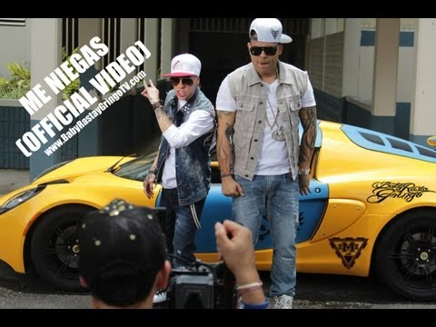 descargar Baby Rasta y Gringo - Me Niegas Remix - Video Official 2014 - Mp4