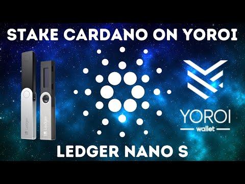 How To Stake Cardano Using Yoroi And Ledger Nano S, ADA Passive Income Tutorial