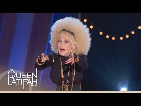 Dolly - Dolly Parton busts out her hip-hop skills and does a special rap for Queen Latifah! Click here for the full rap: http://www.youtube.com/watch?v=onCgDPBmbOM S...