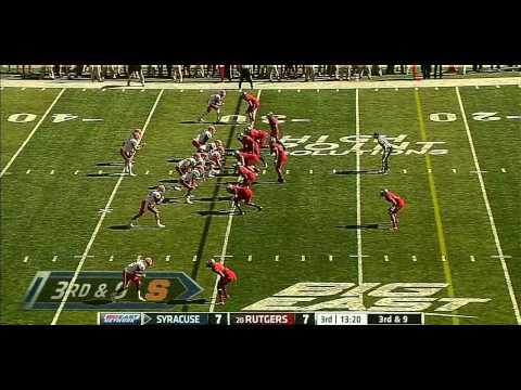 Ryan Nassib vs Rutgers 2012 video.