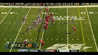 Ryan Nassib vs Rutgers (2012)