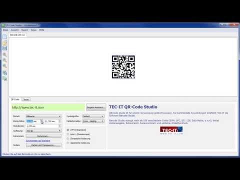Gratis QR-Code Software
