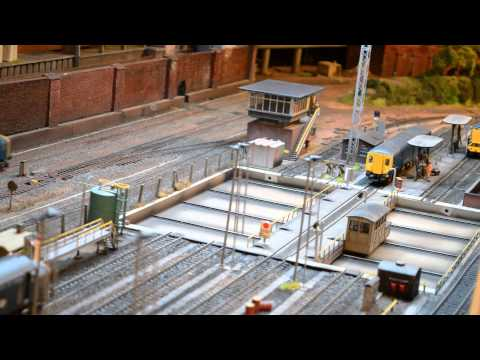 HELJAN TRAVERSER  on my model railway .....