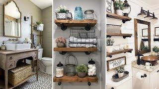 ❤DIY Rustic Farmhouse style bathroom decor Ideas❤ | Home decor & Interior design| Flamingo Mango