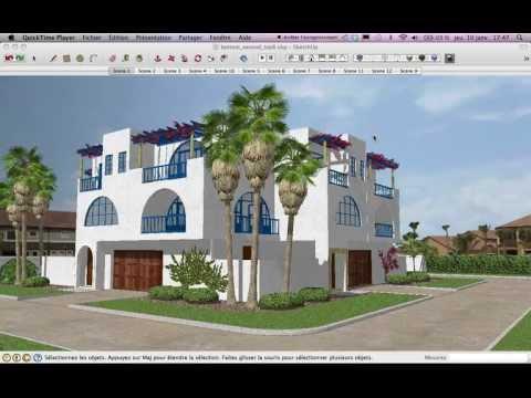 comment construire une maison sur google sketchup 8 la r ponse est sur. Black Bedroom Furniture Sets. Home Design Ideas