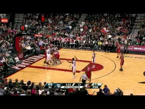 New Jersey Nets 89 – Portland Trail Blazers 96