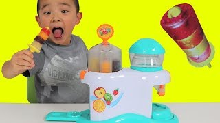 Video Making Icy Pop Fruity Hoops Factory Fun DIY Yummy Kids Popsicle Maker Ckn Toys MP3, 3GP, MP4, WEBM, AVI, FLV Februari 2019