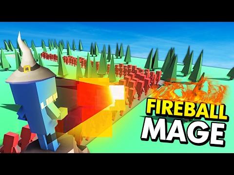 FIREBALL MAGE IN ANCIENT WARFARE TOWER DEFENSE! (Ancient Warfare 2 Tower Defense Funny Gameplay)