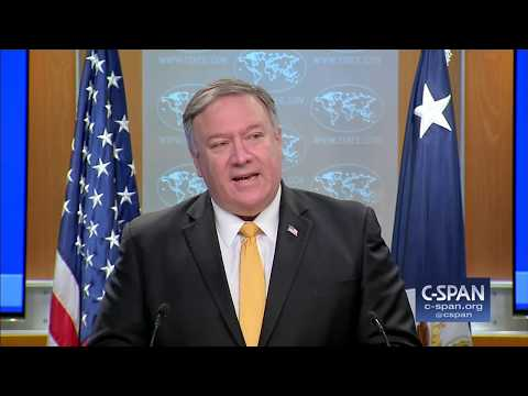Secretary of State Pompeo Announces U.S. Intent to Withdraw from Nuclear Treaty (C-SPAN)