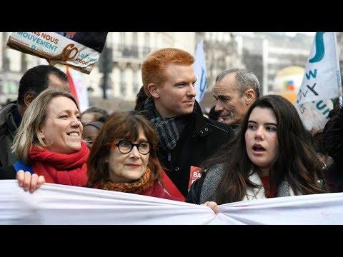 Paris: Massendemonstration gegen Präsident Macron