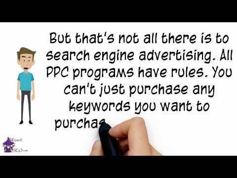 What is search engine advertising?
