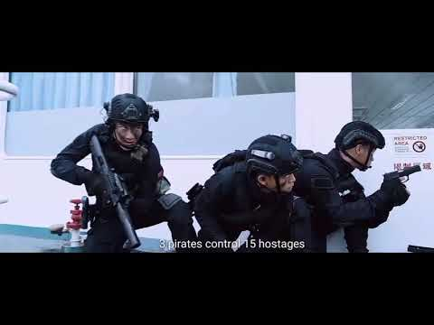 Asian SWAT hostage rescue: Operation Red Sea (ENG subtitle)