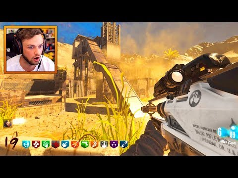 MW2 RUST meets COD ZOMBIES! - CHALLENGE! - (Custom BO3 Zombies)