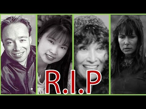 All Deceased Power Rangers Actors(R.I.P)1993 to 2018|PowerFox