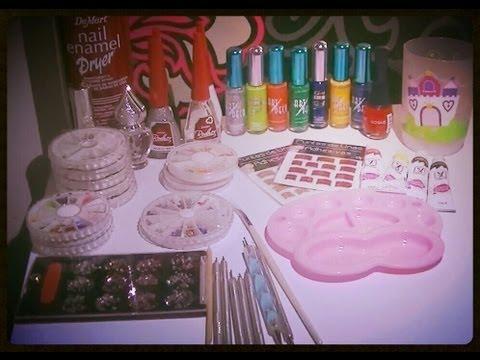 decorar uñas - las herramientas y materiales que yo utilizo para las decoraciones//////DENLE LIKE//////MANITA ARRIBA/////SUSCRIBIROSSSSSSS///////GRACIAS.