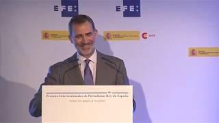 Discurso de S.M. el Rey en la entrega de los premios Rey de España de Periodismo