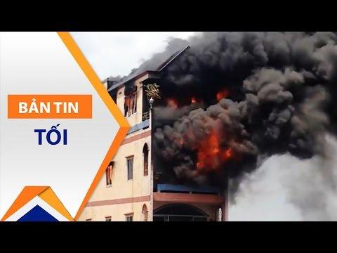 Cháy nhà 5 tầng gần 'chợ tử thần' Kim Biên | VTC - Thời lượng: 81 giây.
