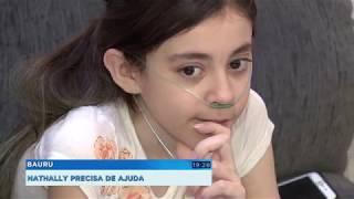 Família de menina com fibrose cística pede ajuda para que ela consiga um transplante de pulmão