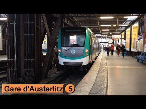 Métro de Paris : Gare d'Austerlitz | Ligne 5 ( RATP MF01 )