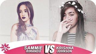 ★Sammie Rimando  VS Krishna Audrey Santos Johnson  l Musically Battle l