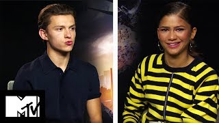 Tom Holland & Zendaya Play Would You Rather | SPIDER-MAN Homecoming | MTV Movies