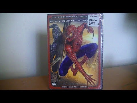 SpiderMan 3 - DVD Unboxing!