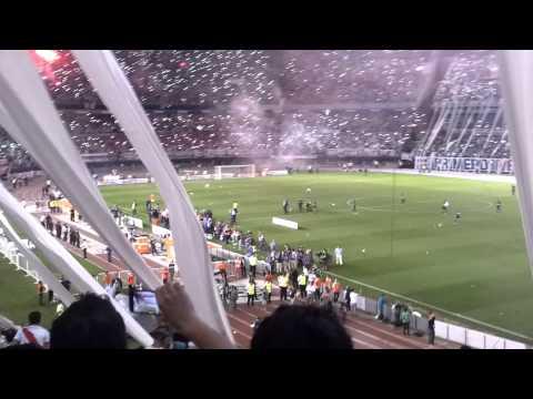 Video - Salida River vs Boca - Los Borrachos del Tablón - River Plate - Argentina - América del Sur