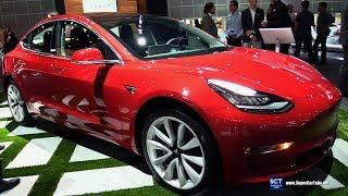 2018 Tesla Model 3 - Exterior Walkaround - 2017 LA Auto Show
