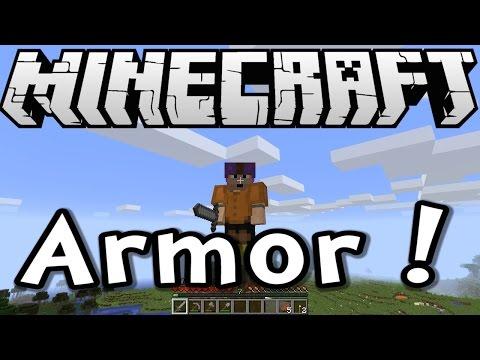 Minecraft 1.8 Tutorial - Crafting Armor - Episode 3 of Survive & Thrive Season 8