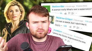 The 13th Doctor has been announced - Jodie Whittaker is the new star of Doctor Who! SOME PEOPLE...are not too happy about it. Let's see why! SUBSCRIBE ...