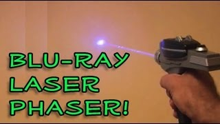 Amazing Lasers! - Blu-ray Laser Phaser!