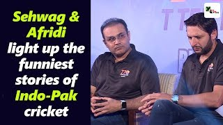 Video Super entertaining! Sehwag and Afridi light up the funniest stories of Indo-Pak cricket MP3, 3GP, MP4, WEBM, AVI, FLV Januari 2019